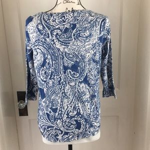 Chico's Tops - Chico's blue knit #2 top